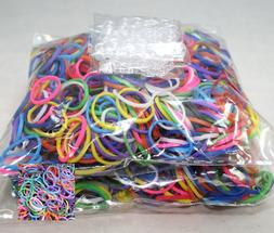 1200 Piece Multi-Color Rubber Band and S-Clips Loom Art and