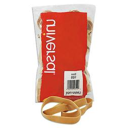 Rubber Bands, Size 105, 5 x 5/8, 55 Bands/1lb Pack
