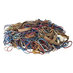 Alliance Rubber Bands, Assorted Large, Medium, Small Sizes &