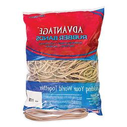 Advantage Rubber Bands Large Size #117b Crepe  Heavy Duty Ma