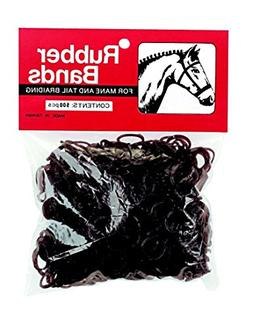 Weaver Leather Rubber Bands Brown
