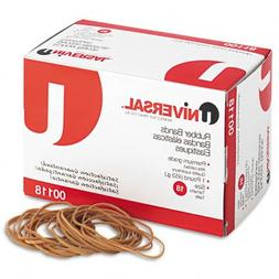 ** Rubber Bands, Size 18, 3 x 1/16, 1600 Bands/1lb Pack **