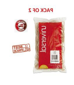 """Universal Rubber Bands, Size 117, 7"""" x 1/8"""", 210ct./1lb Pack"""
