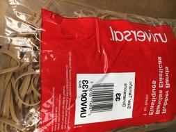 UNIVERSAL Rubber Bands Size 33 2 x 1/8 1100 Bands/1lb Pack 0