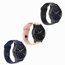 Aifulo Rubber Watch Bands for Samsung S3 Huami Amazfit Pace