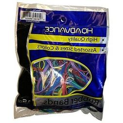 HQ Advance Products Rubberbands Assorted Color and Size