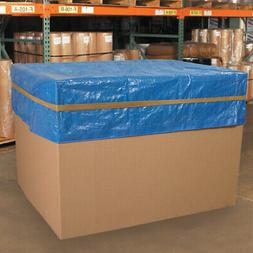 Secure pallet covers & sheeting Brown Rubber Standard Pallet