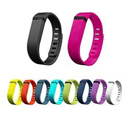 Set of 10pcs Large L Colorfull Replacement Wrist Band With C