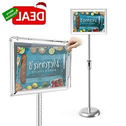 Sign Holder Stand,Firstand Adjustable Pedestal Poster Stand