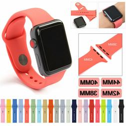 Silicone Bracelet Band Strap Sports Bands For Apple Watch iW
