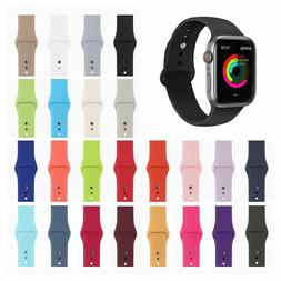 Silicone Sport Band Strap for Apple Watch iWatch Series 4 3