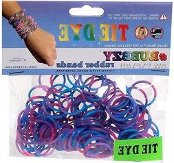 RUBBZY SILICONE TIE DYE RUBBER BANDS FOR RAINBOW LOOM - PINK