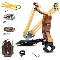 Professional Slingshot YZXLI Stainless Steel Outdoor Hunting