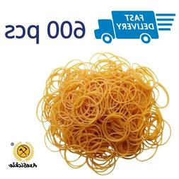 Small Rubber Bands For Office 600 Stretchy Thin Strong Elast