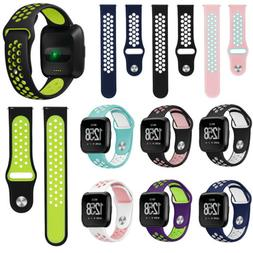Silicone Rubber Classic Sport Band Strap Wristband For Fitbi