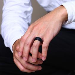 Sports Silicone Wedding Ring for Men Woman Affordable <font>