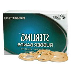 Alliance Rubber 20645 Pale Crepe Gold Rubber Bands Size #64,