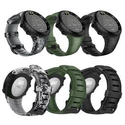 For Suunto Core Replacement Watch Band Rubber Accessory Stra