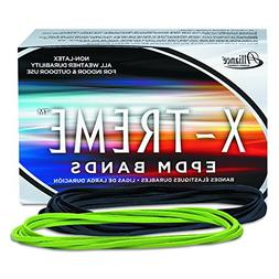 -- X-treme File Bands, #117B, 7 x 1/8, Lime Green, Approx. 1