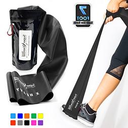 SUPER EXERCISE BAND X Heavy Black 7 ft. Long Resistance Band