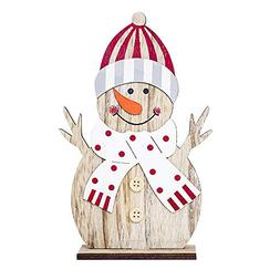Yaida_❤️Home Decor Yaida Snowman Christmas Decorations W