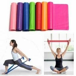 1.5m Yoga Slimming Rubber Stretch Resistance Exercise Fitnes